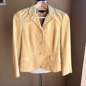 Theory suede jacket size 0